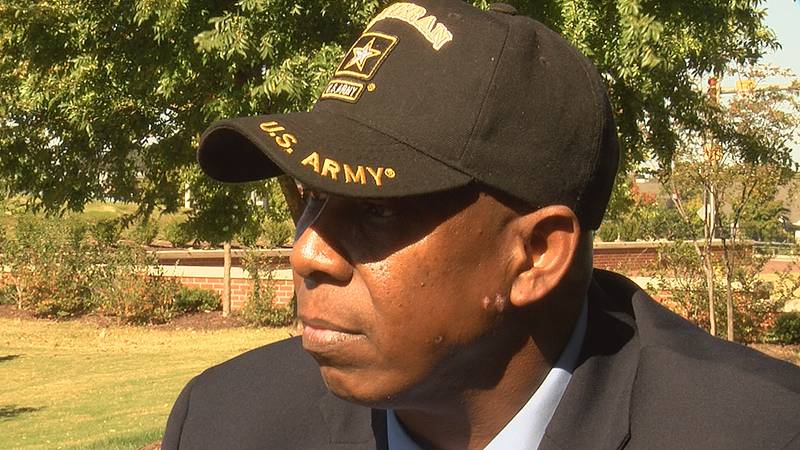 Sergeant Major Adrian Hamrick, a military veteran and Charlotte native, will be inducted into...