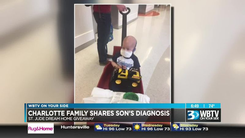 Charlotte family helped by St. Jude shares cancer fight story