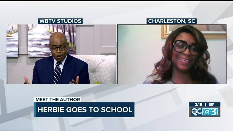 Carolina author writes new children's book 'Herbie Goes to School'