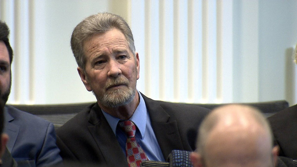 McCrae Dowless listens during the NCSBE evidentiary hearing into voting irregularities in the...