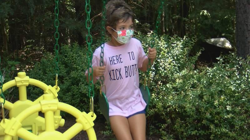 Elly Perlman, 6, is fighting Acute Lymphoblastic Leukemia.