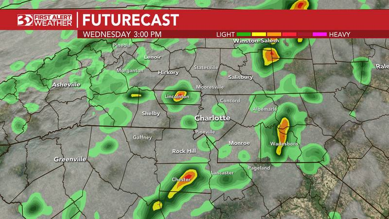 The remnants of Ida could bring some afternoon storms to the area.