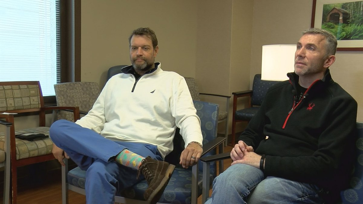 Best friends are perfect match for kidney transplant