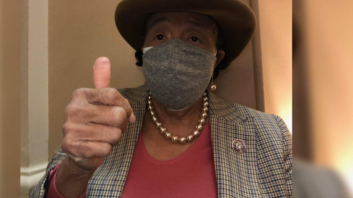 """United States Congresswoman Alma Adams is calling Jan. 6 a """"gross violation"""" and """"a sad day for..."""