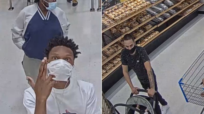Detectives from the Charlotte-Mecklenburg Police Department are hoping to identify several...
