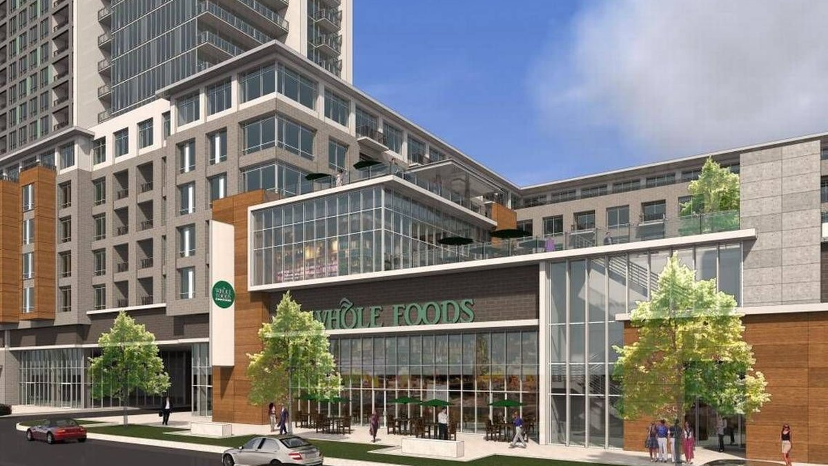 Rendering of the Stonewall Station uptown. A lawsuit brought against the developer behind the...