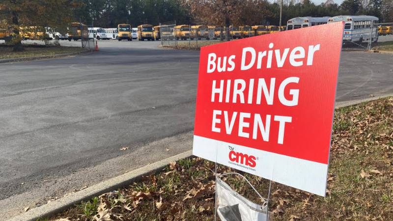 CMS looks to hire more bus drivers