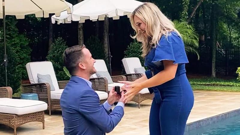 Chandler Morgan gets engaged, Source: Jolie Starr