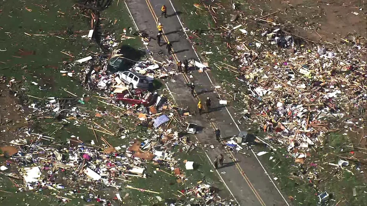 Two people are now confirmed dead after a possible tornado ripped through a mobile home park...