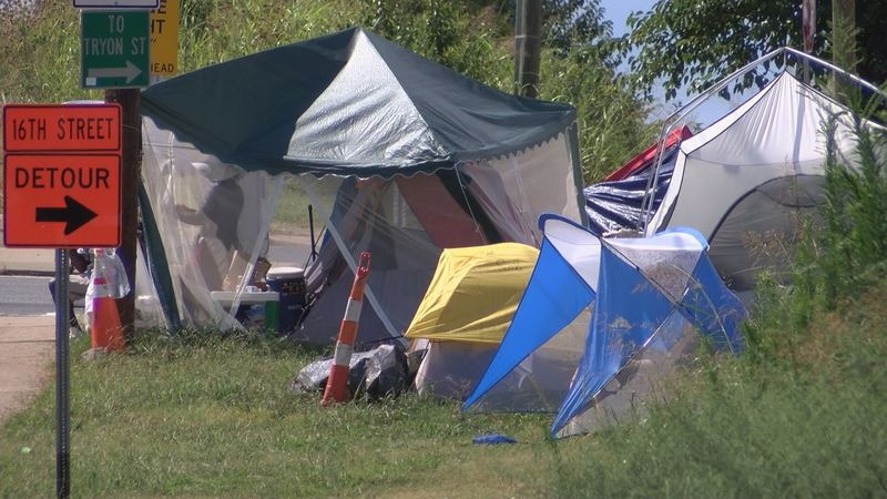 A property owner recently filed a lawsuit and wants a judge to order that Tent City be removed.