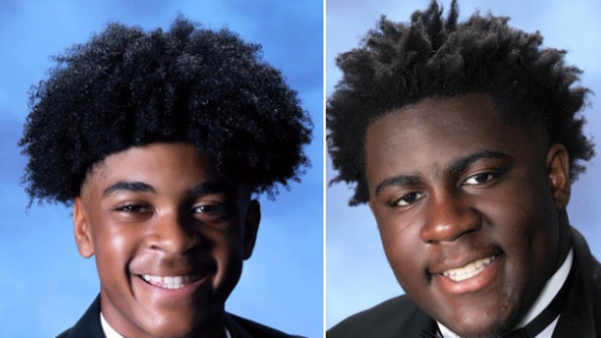 Jordan Hill and Gabriel Talaumbu are the 1st place national winners in the Family, Career and...