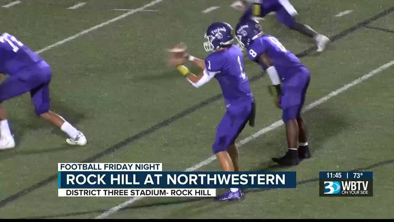 Northwestern picks up a win over rival Rock Hill 48-14 to move to 1-1.