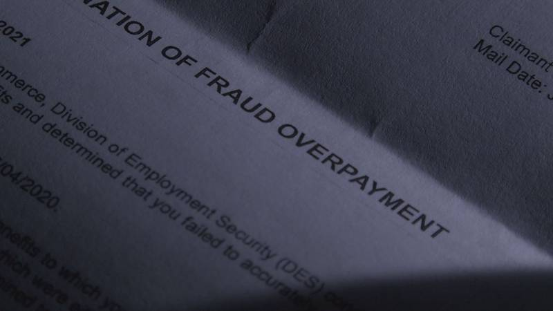 A letter sent by NCDES claims fraud, even though the victim warned them about the situation a...