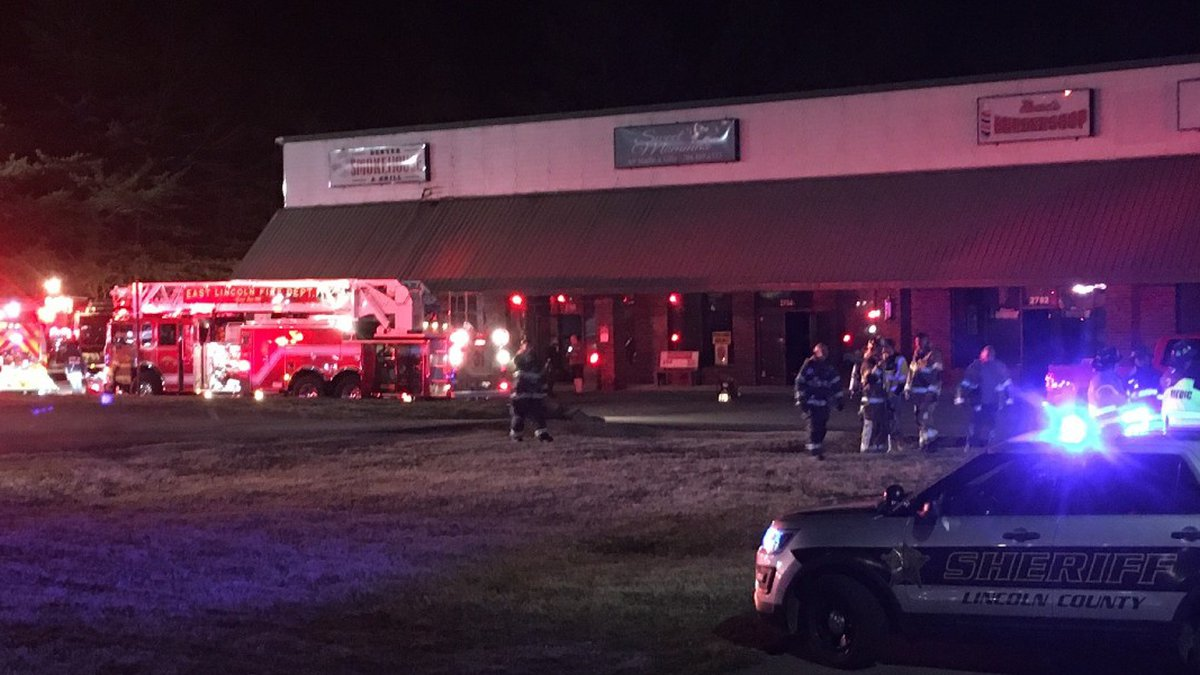 The incident happened at the Denver Smokehouse on North Highway 16.