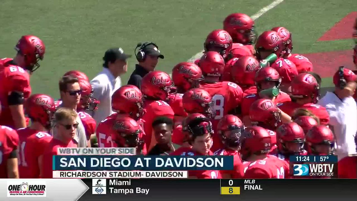 The defending Pioneer League champs, Davidson, starts conference play with a big 28-16 win over...