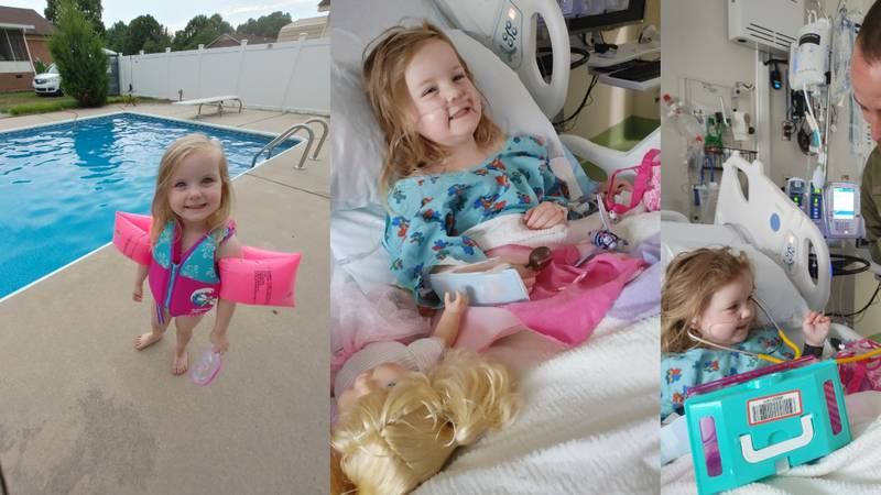 After a near drowning of her 3-year-old daughter, a local mother is sharing her story to warn...