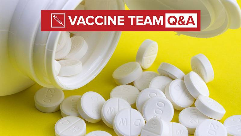 VACCINE TEAM: Can I take pain relievers or allergy meds without jeopardizing the shot's...