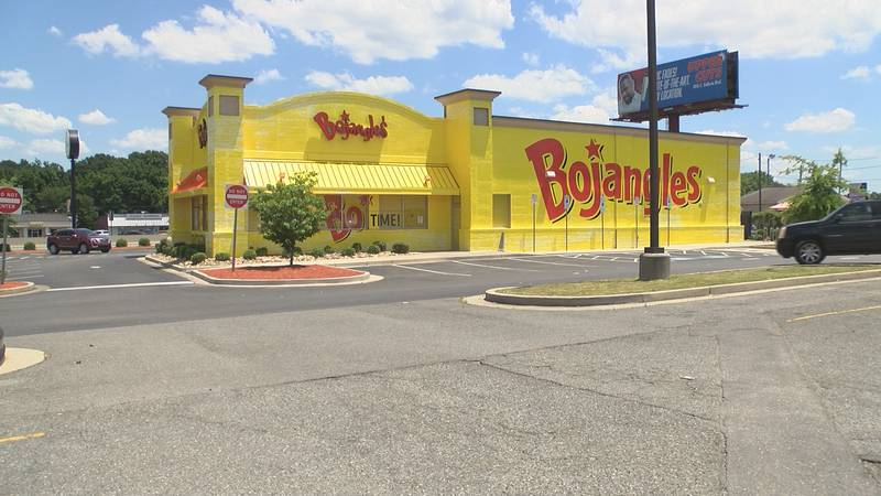 Bright yellow Bojangles gains attentions from drivers, City of Charlotte