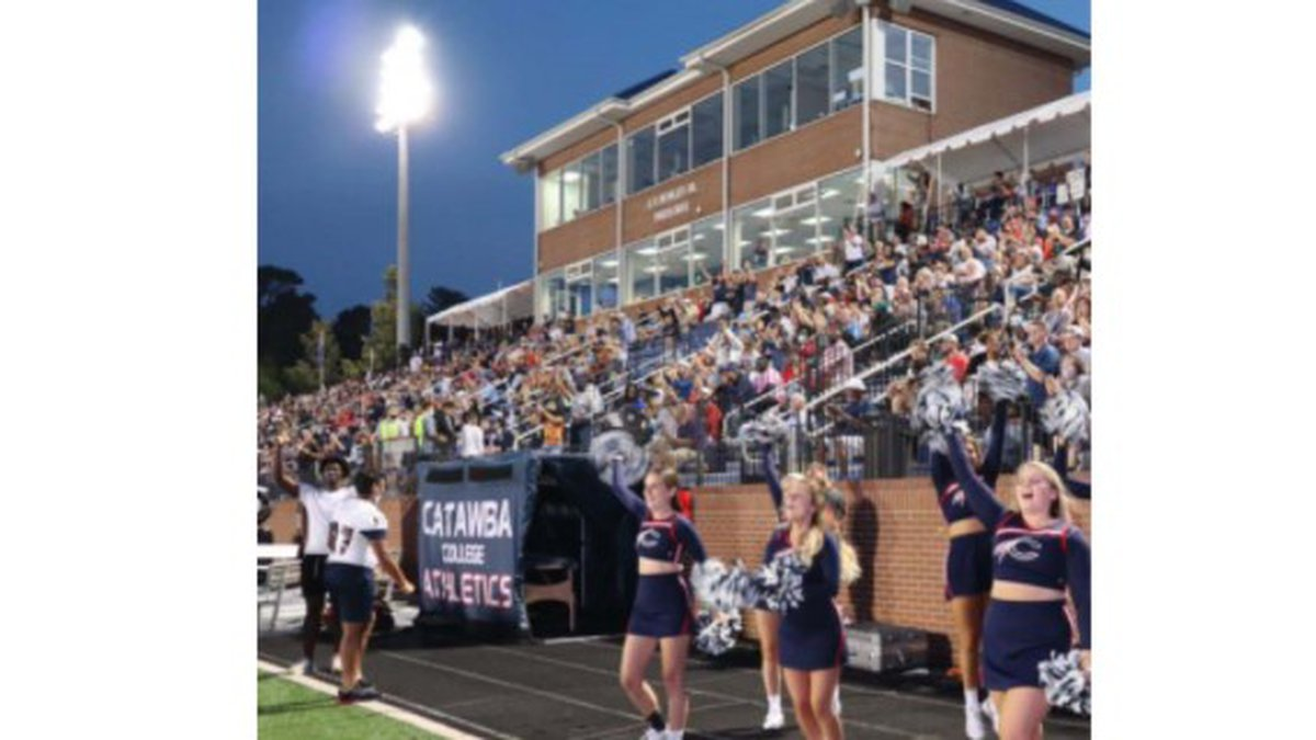 Fans enjoying a home game at Shuford Stadium