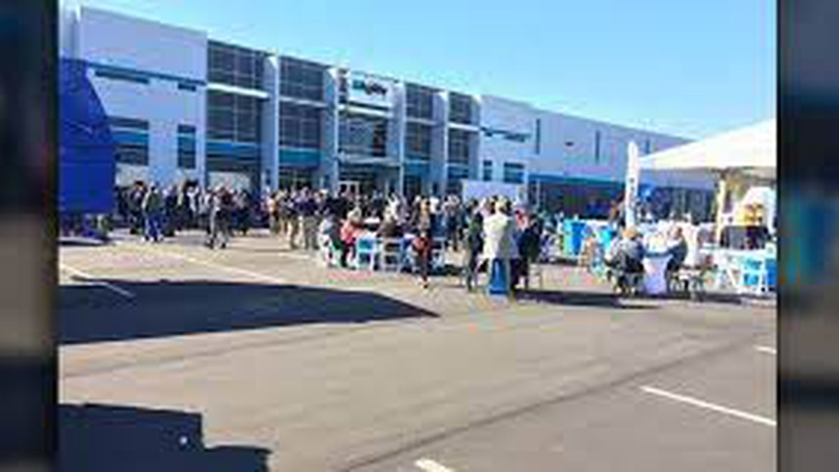 Picture taken at the grand opening of the new facility in Rowan County in 2015.