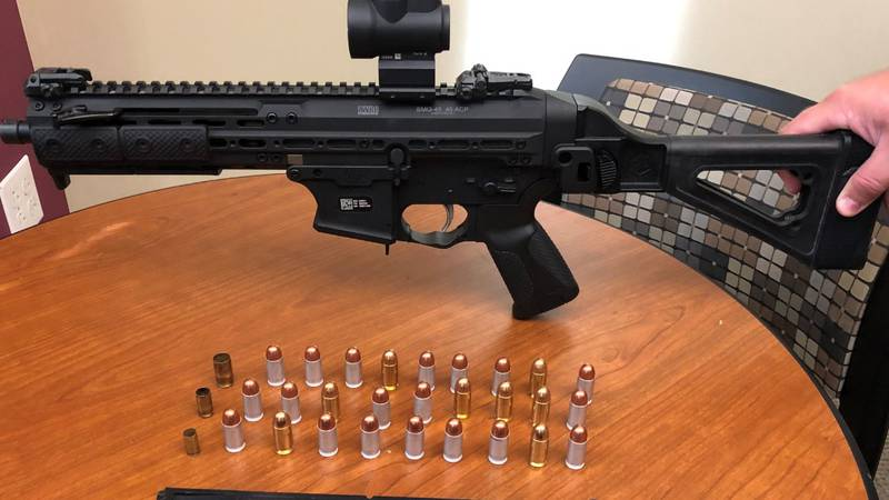 Man arrested for attempting to bring gun into Mecklenburg County Courthouse