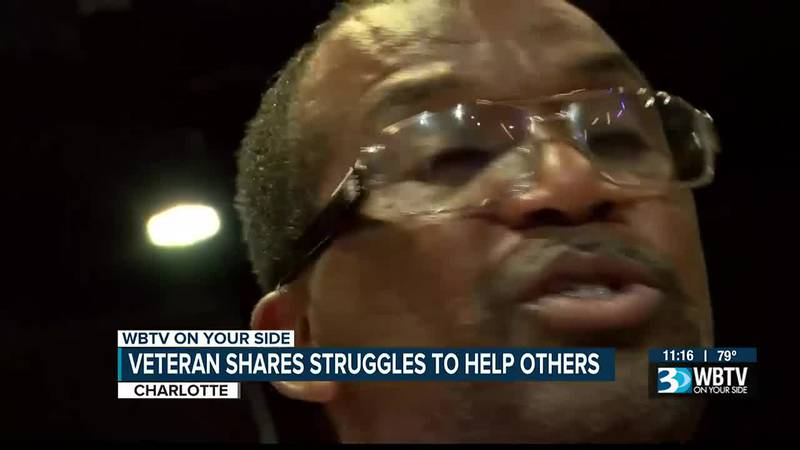 Veteran shares struggles to help others