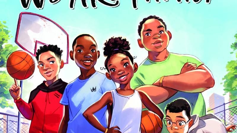 """LeBron James' second childrens book """"We Are Family"""" follows a group of kids who band together..."""