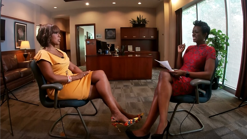 To recognize WBTV's 70th anniversary CBS This Morning host Gayle King flew in all the way from...