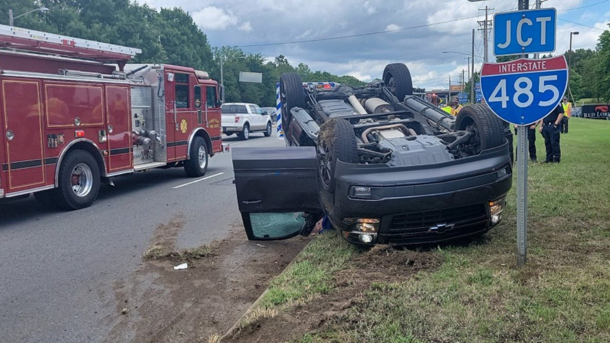 The incident happened on NC-51 in Pineville around noon. Pineville Police responded to the area.