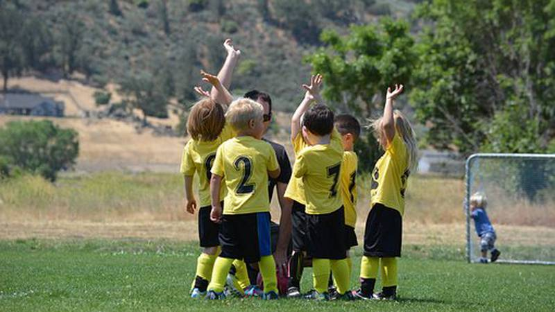 The pressure on kids, when it comes to sports, can be pretty intense.