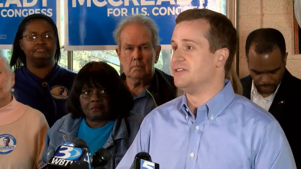 Dan McCready announces he is running again for NC's District 9 after NCSBE calls for new...