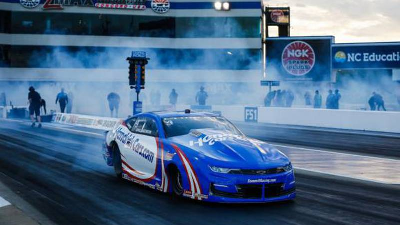 Pro Stock driver Greg Anderson, a three-time winner at zMAX Dragway, will look for his...