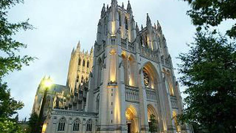 Washington National Cathedral announced Thursday that the new stained glass windows in its main...