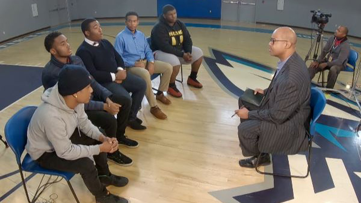 We asked a group of black male teens how Charlotte treats them. Some say they are followed when...