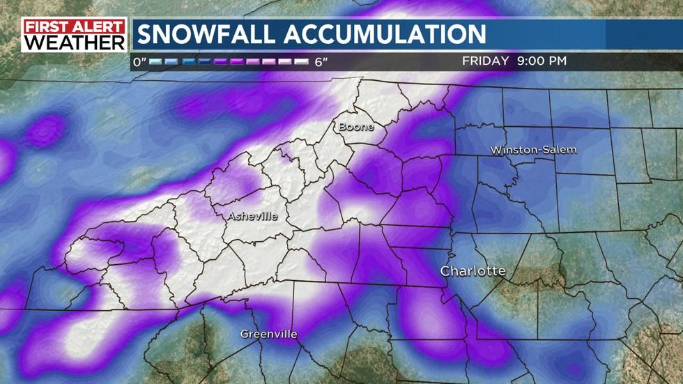 Snowfall accumulation