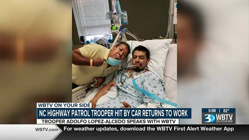 It has been a long road to recovery for a local North Carolina State Trooper who was seriously...