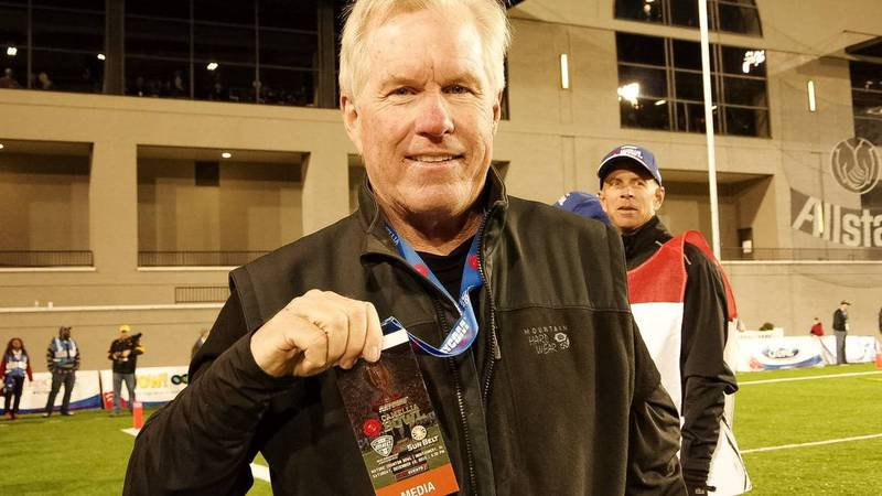 Steve Ohnesorge, photographed in 2015 at App State's first bowl game (the Camellia Bowl) in...