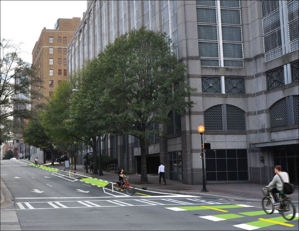 Renderings provided by City of Charlotte DOT.