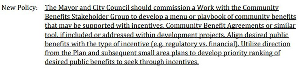 A proposed policy would create a working group to help oversee the CBA process.