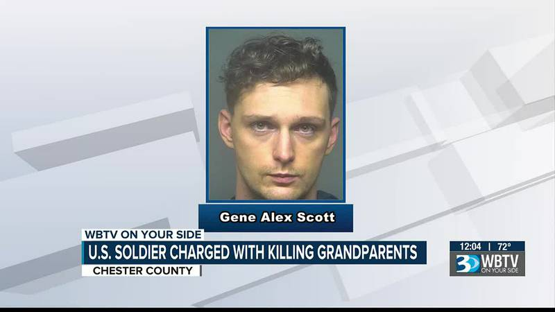 U.S. soldier charged with killing grandparents