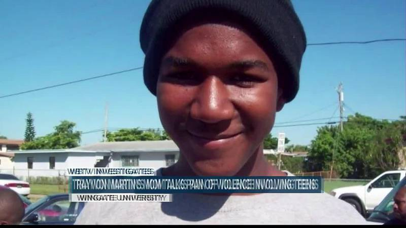 Trayvon Martin's mother speaks to Wingate students, encourages grieving local parents