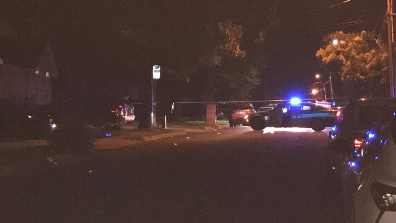 Police say a man was found shot and killed on Ellington Street early Sunday morning.