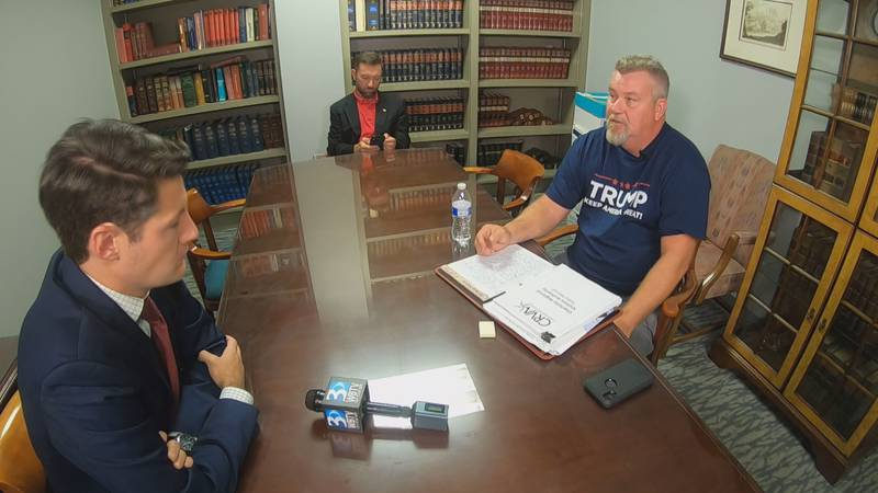 Tim Tarlton said he was fired from his job at the Charlotte Regional Visitors Authority for...