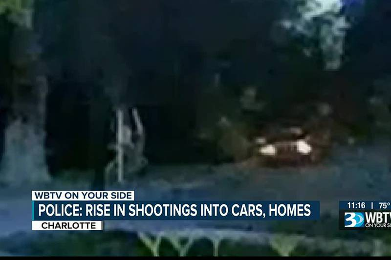 Police: Rise in shootings into cars, homes