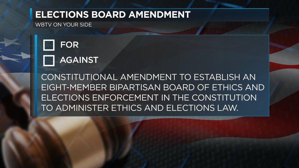 Elections Board Amendment