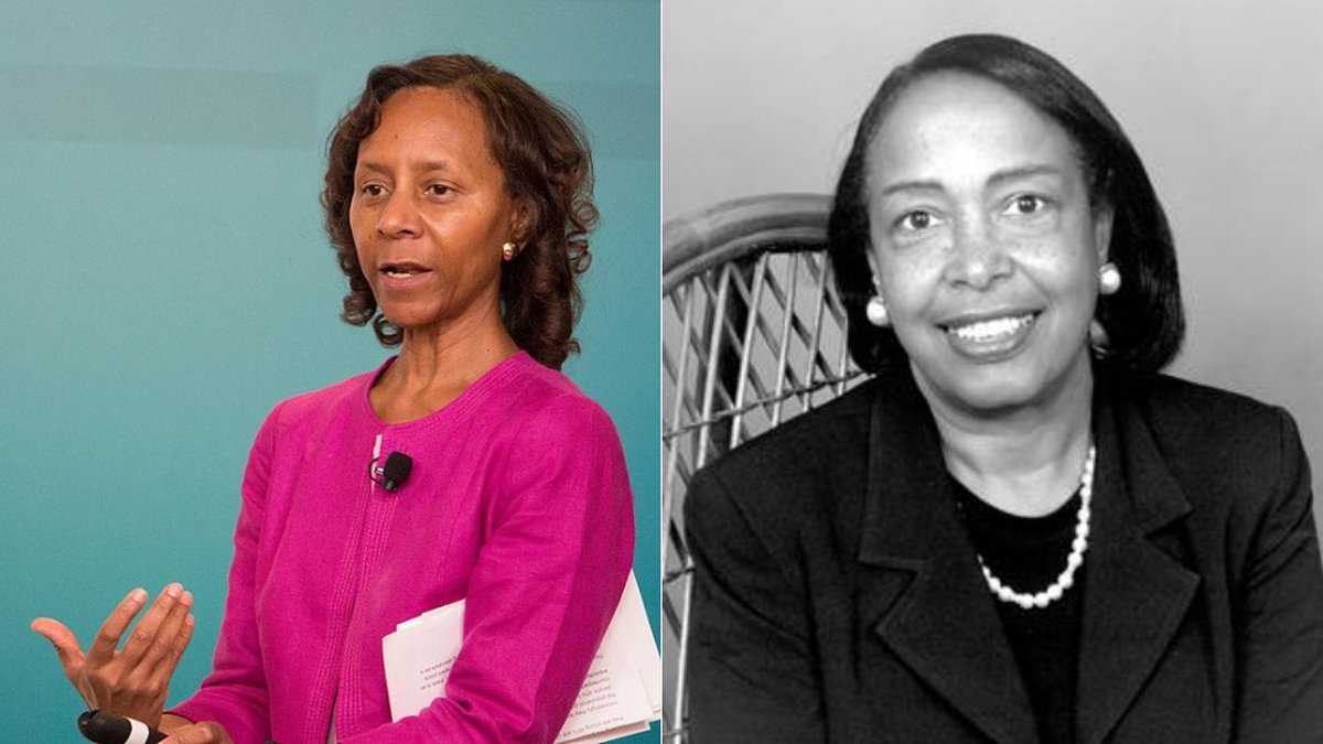 Engineer Marian Croak and ophthalmologist Dr. Patricia Bath, whose inventions advanced the...