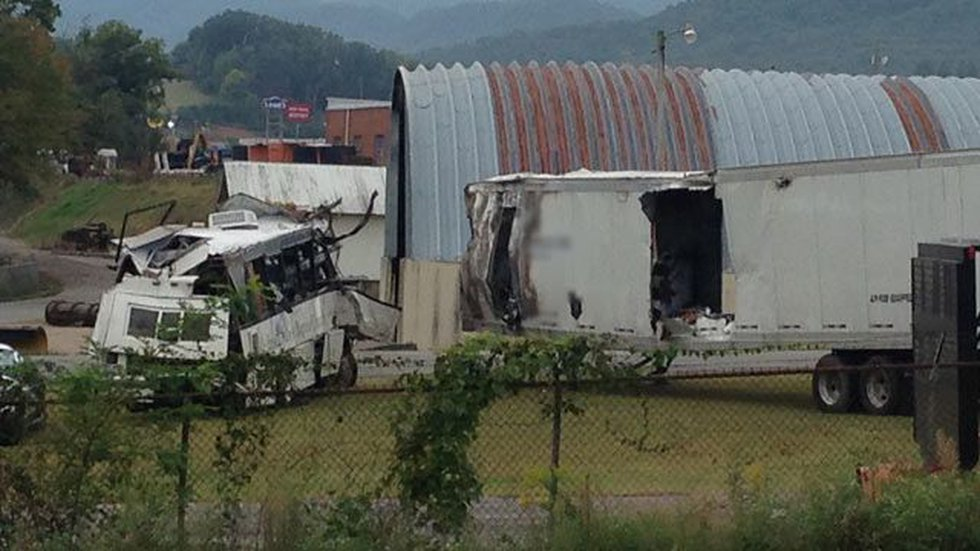 The church bus and tractor trailer were taken to a TN Dept. of Transportation site for further...