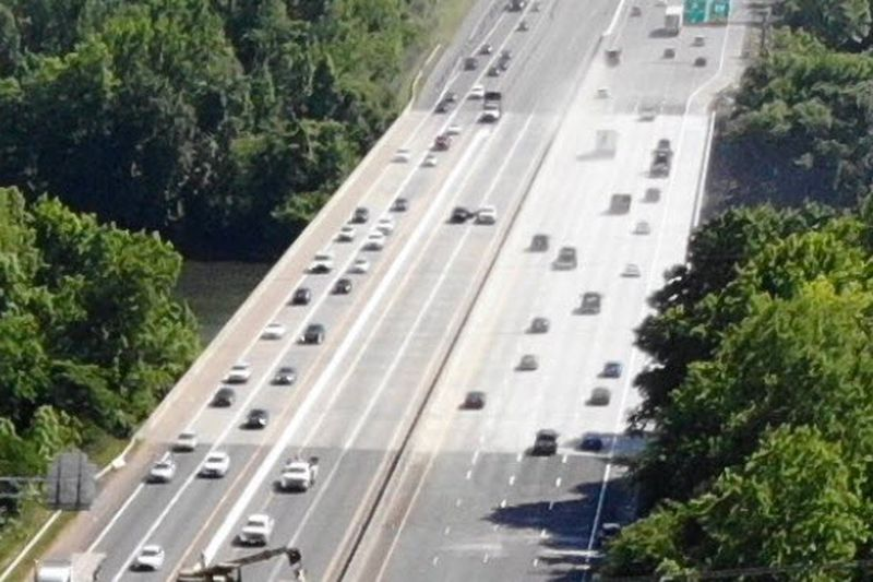 All lanes of the Catawba River Bridge on I-77 in York County will be open Friday night.