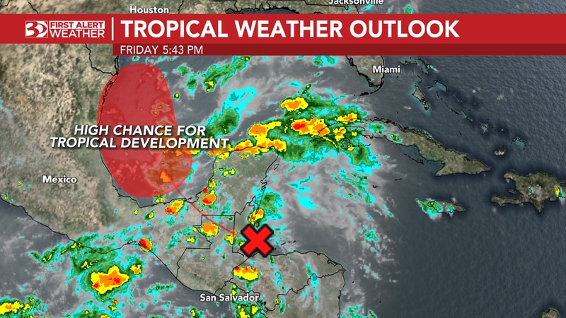 There are two systems we are watching, that may take on more tropical characteristics into next...