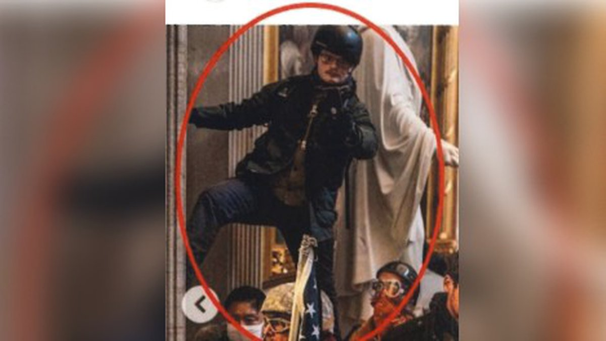 Stephen Horn was identified in the Capitol riots through a New York Times Magazine Instagram...